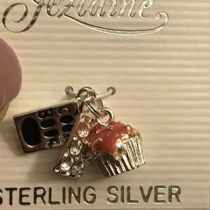 Jewelry - Sterling silver bakers charm, NWOT